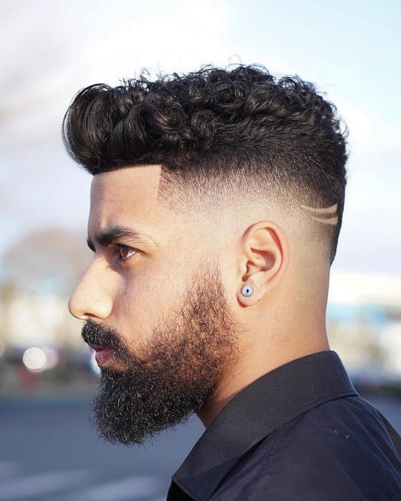 Seuelias High Fade Haircut Curly Hair Men Hair Design 819x1024