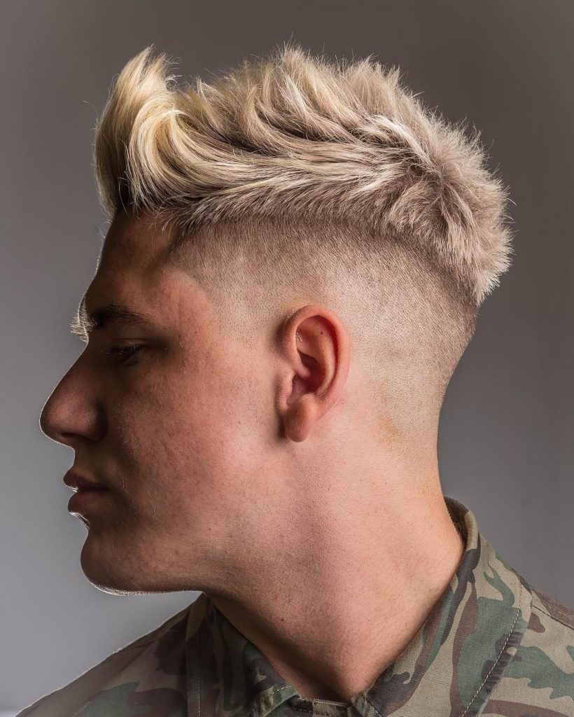 Tombaxter Hair High Fade Haircut Spikes 2018 820x1024