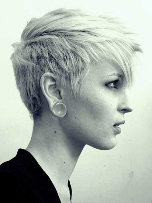 10. Layered Short Hairstyles