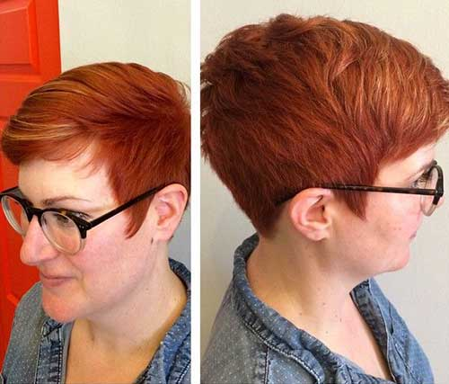 10. Short Modern Haircut