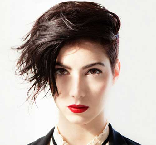 13. Layered Short Hairstyles