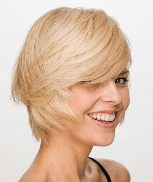 13.Short Textured Hairstyle