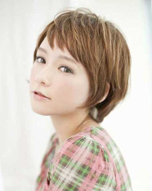 14. Layered Short Hairstyles