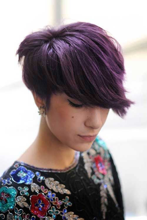 14.Short Textured Hairstyle