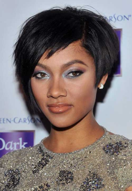 15. Layered Short Hairstyles