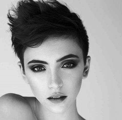 15. Short Modern Haircut