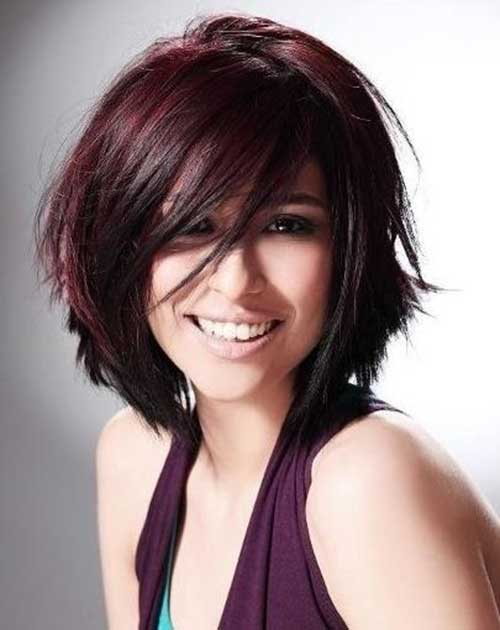 15.Layered Short Hairstyles