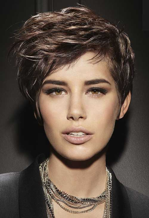 16. Layered Short Hairstyles