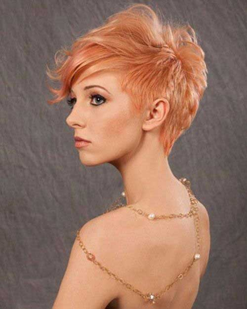 24. Layered Short Hairstyles