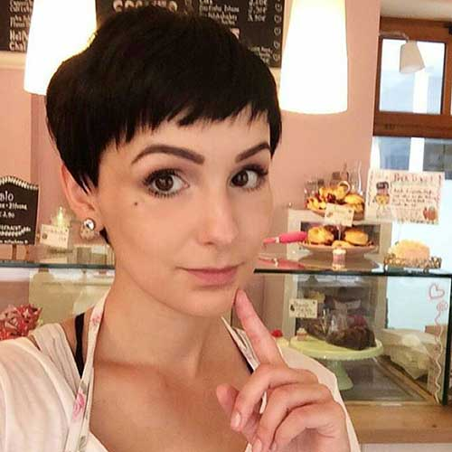 24. Short Hairstyle