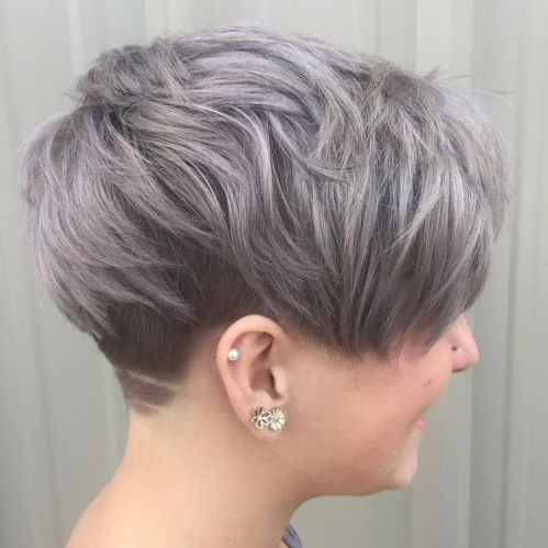 5 Ash Brown Undercut Pixie