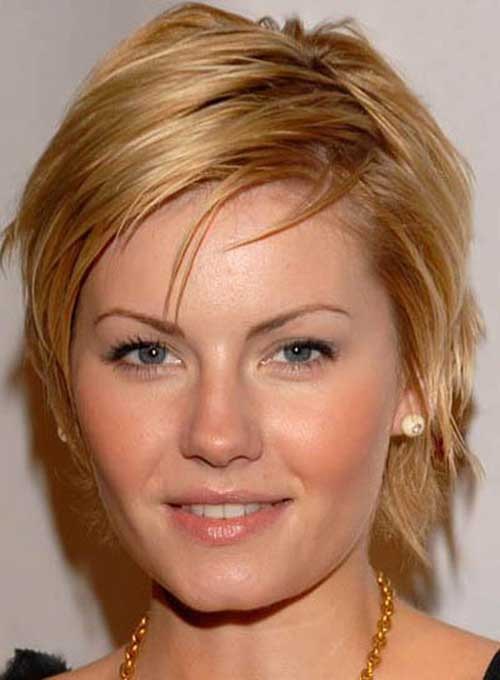7. Layered Short Hairstyles