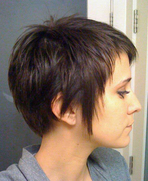 9. Short Modern Haircut