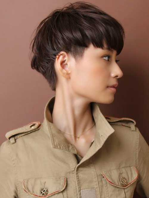 Female Short Haircuts Japanese Style