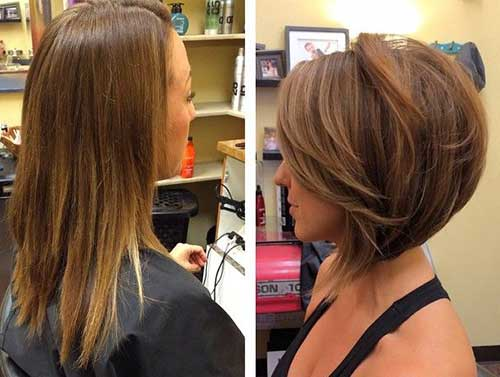 Layered Haircut Short