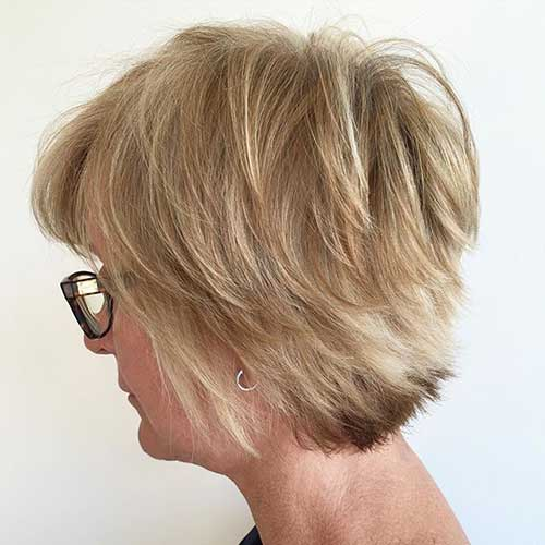 Short Hair Layered