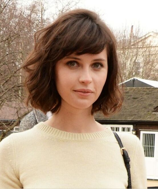 Short Hair With Bangs 11