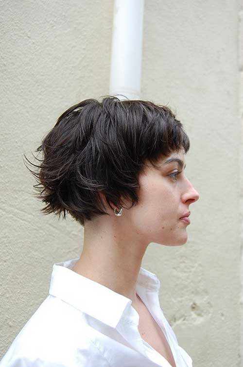 Short Haircuts For Thick Hair 18