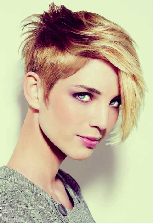Short Haircuts For Thick Hair 22