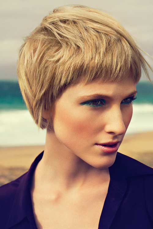 Short Haircuts For Thick Hair 23