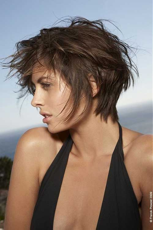 Short Layered Messy Haircuts
