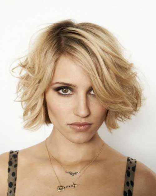 Textured Hairstyle For Short Hair