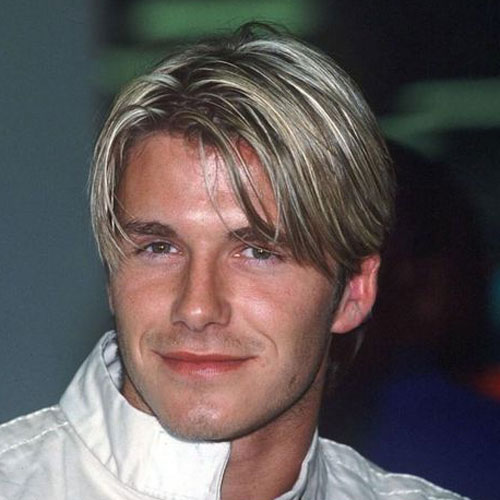David Beckham Hair Bangs