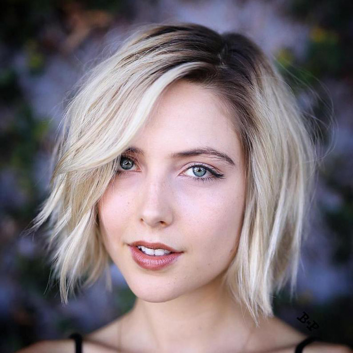 Easy And Pretty Bob Haircuts That Make Your Fine Hair Fuller 10