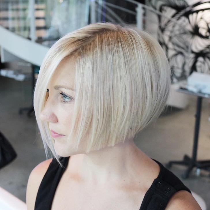 Easy And Pretty Bob Haircuts That Make Your Fine Hair Fuller 16