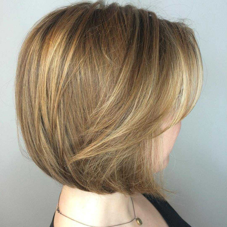 Easy And Pretty Bob Haircuts That Make Your Fine Hair Fuller 22