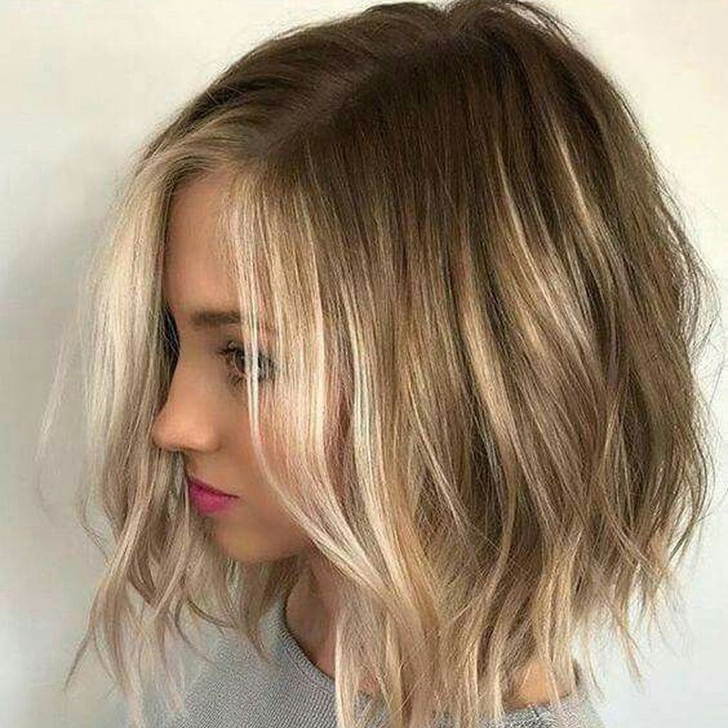 Easy And Pretty Bob Haircuts That Make Your Fine Hair Fuller 24