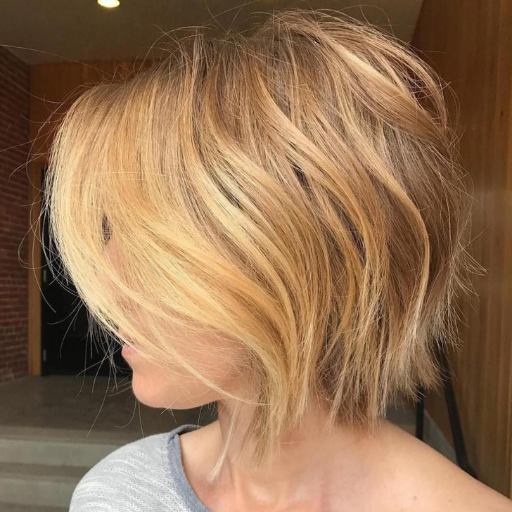 Easy And Pretty Bob Haircuts That Make Your Fine Hair Fuller 27