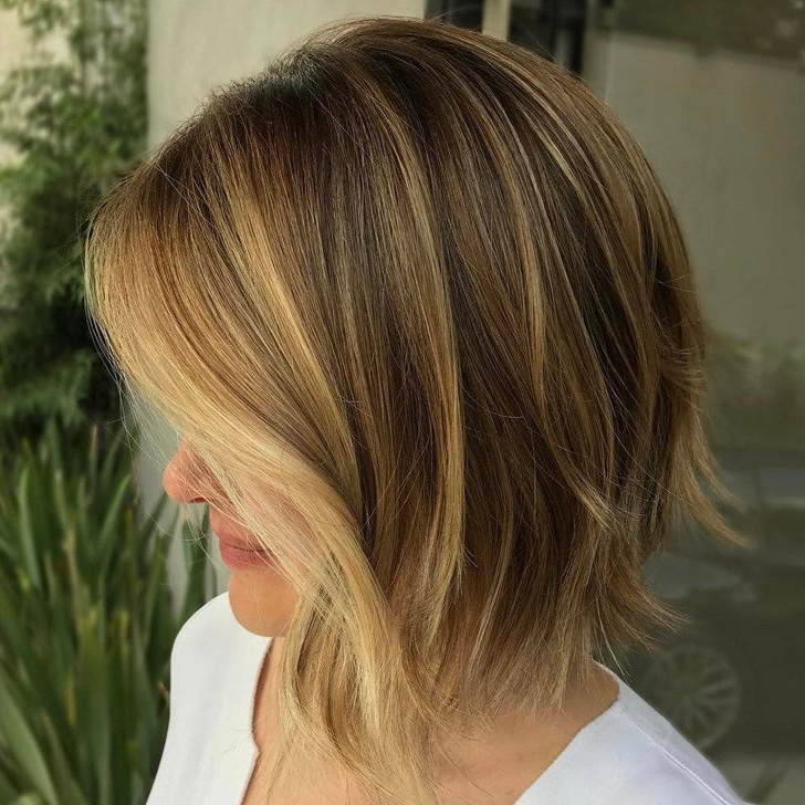 Easy And Pretty Bob Haircuts That Make Your Fine Hair Fuller 29