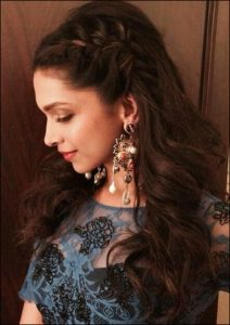 Deepika Padukone Cocktail Hairstyle Tutorial Adorable Deepika padukone hairstyles